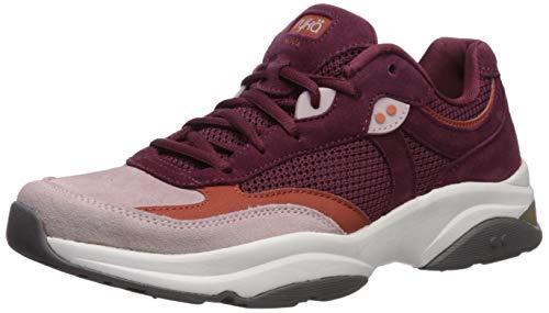 Ryka Women's NOVA Walking Shoe, Burgundy, 7.5 W US