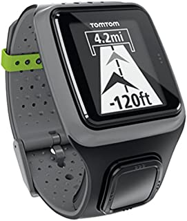 TomTom Multi-Sport GPS Watch with Heart Rate Monitor, Grey