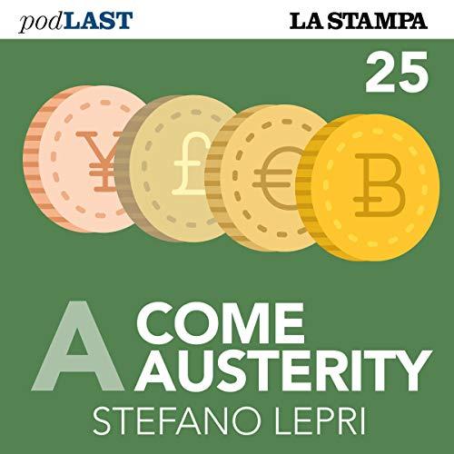 Zero (A come Austerity 25) copertina