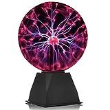 GDRAVEN Mini Plasmalampe Lichter, Plasma Ball lampe | Elektrostatische Kugel Berührungsempfindliche...