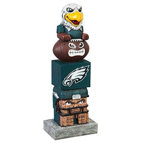 Team Sports America NFL Philadelphia Eagles 12 Inch Tiki Totem