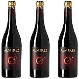 Almirez Vino Tinto - 3 botellas x 750ml - total: 2250 ml