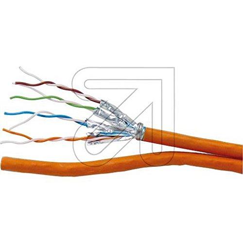 EKU Kabel 250 Meter Daten-Verlegekabel Cat 7 Duplex ekulan10