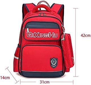 ランドセル 子供のためのキッズバックパックスクールバッグショルダーバッグ子供女の子のための女の子 小学生通学 (色 : Jujube, サイズ : ワンサイズ)