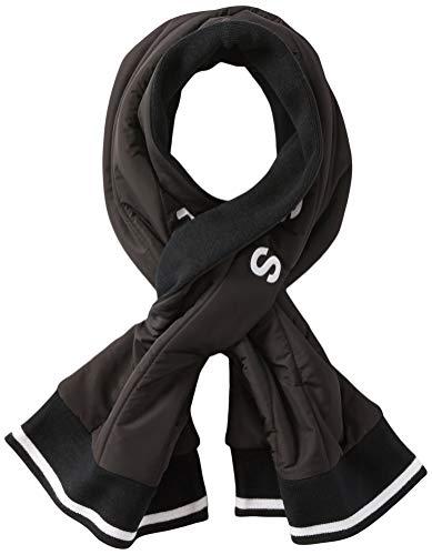 BOSS Damen Aquilt Schal, Black1, ONESI