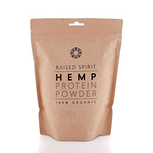 Raised Spirit Hemp Protein Powder - 100% Organic
