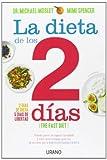Dieta de los dos días.: Pierde peso, recupera la salud y vive más tiempo gracias al secreto de la dieta intermitente: 1 (Nutrición y dietética)