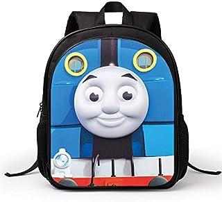 حقائب ظهر مدرسية مزينة برسومات توماس ثلاثية الابعاد للاطفال في المرحلة الابتدائية ورياض الاطفال ومرحلة ما قبل المدرسة - xsq