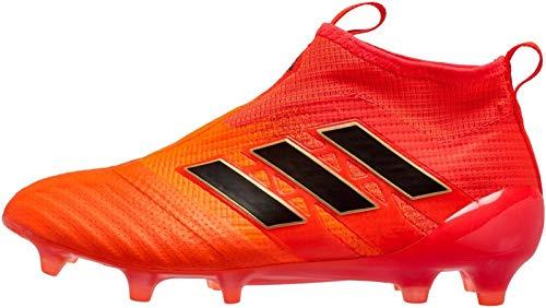 adidas Kid's ACE 17+ PURECONTROL FG J Soccer Cleats (Sz. 4.5) Solar Orange