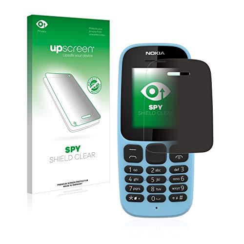 upscreen Pellicola Protettiva Privacy Compatibile con Nokia 105 2019 Protezione - Anti-Spy, Anti-Graffio, Ultra-Sottile