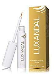 LUXANDAL EYELASH ACTIVATING SERUM - eyelash serum for stronger eyelash growth, more density and a more sensual, darker color of the eyelashes - with biotin - 3 ml