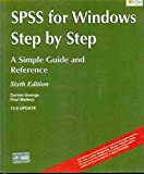 SPSS for Windows Step-by-step: A Simple Guide and Reference, 13.0 Update - Darren George