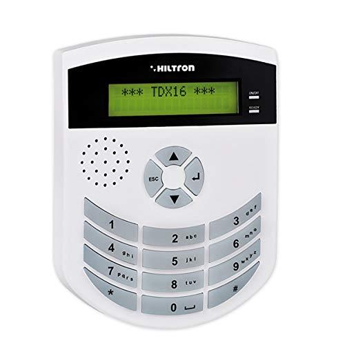 Hiltron TDX16 Combinatore telefonico gsm con messaggi vocali Pre registrati Antifurto Allarme