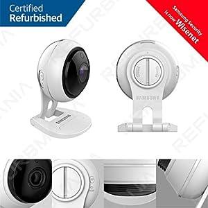 Samsung Wisenet SNH-V6431BN SmartCam 1080p Full HD Wi-Fi Indoor IP Camera Two Pack (Renewed)
