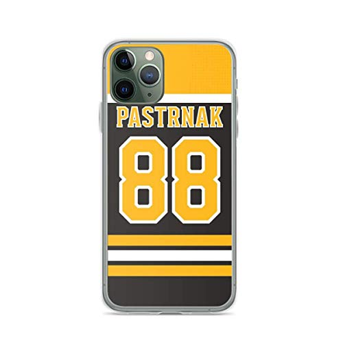 Phone Case Bruins Boston David Pastrnak Home Jersey Back Phone Case Compatible with iPhone 6 6s 7 8 X XS XR 11 Pro Max SE 2020 Samsung Galaxy Waterproof Tested Anti