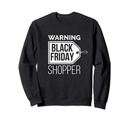 black friday natale Natale Black Friday Shopper Day del Ringraziamento Shopping Felpa