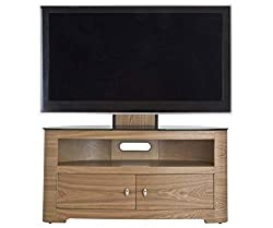 AVF Blenheim FSL1000BLEO Cable management Oak TV stand Up to 65 inch screens Oval shape Dimensions (mm): w1000 x d443 x h1226