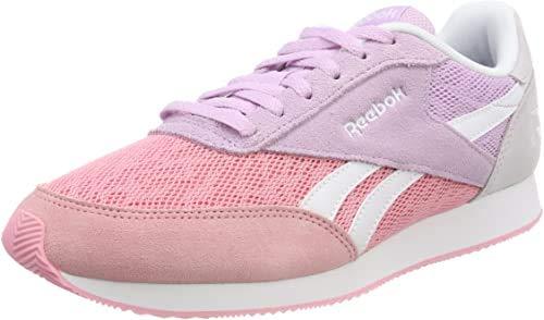 Reebok Royal Cl Jogger 2, Zapatillas de Trail Running para Mujer, Rosa (FS/Squad Pink/Moonglow/Quartz/White 000), 35.5 EU