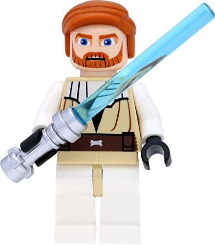 LEGO Star Wars - Figura de Obi-Wan Kenobi con espadas láser