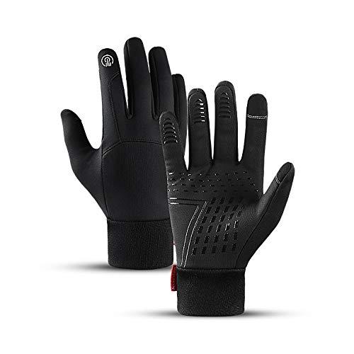 Makida, guanti unisex con touch screen, guanti termici, tras