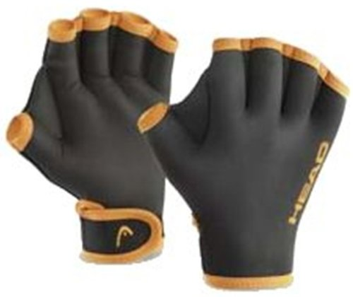 HEAD Swim Glove Aqua-Handschuh - black, Größe:M (medium)