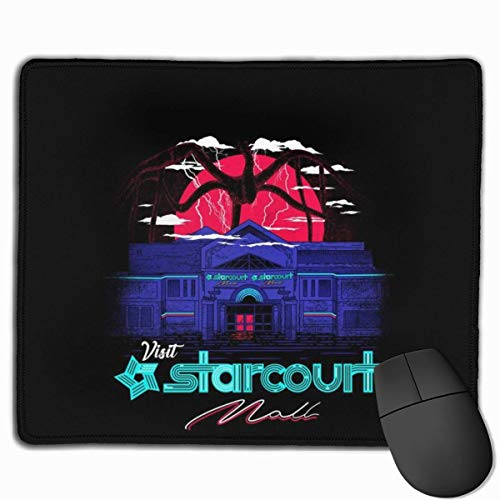 Mouse Pad Stranger Things Starcourt Mall Mind Flayer Desk Mousepad 11.8X9.8 Inch Non-Slip Rubber Base, Keyboard Pad Mat for Computer/Laptop