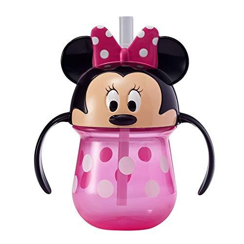 The First Years Minnie Mouse Gobelet d'apprentissage en paille pour bébé 200 ml
