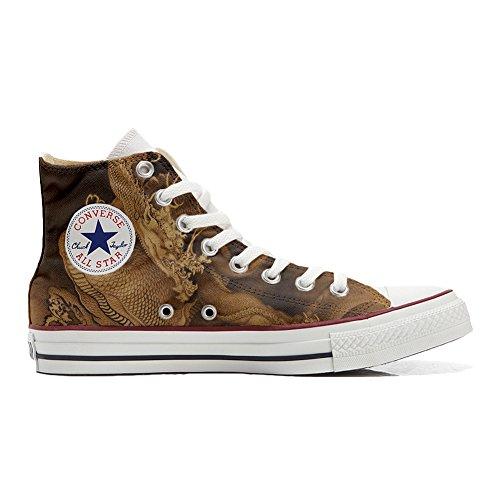 Origineel origineel gepersonaliseerde schoenen (handgemaakt product) van de draak