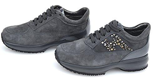 Hogan Junior Interactive Bambina Scarpa Sneaker HXT0920 - HXC00N0 P31061PB800 26 CATRAME - Tar