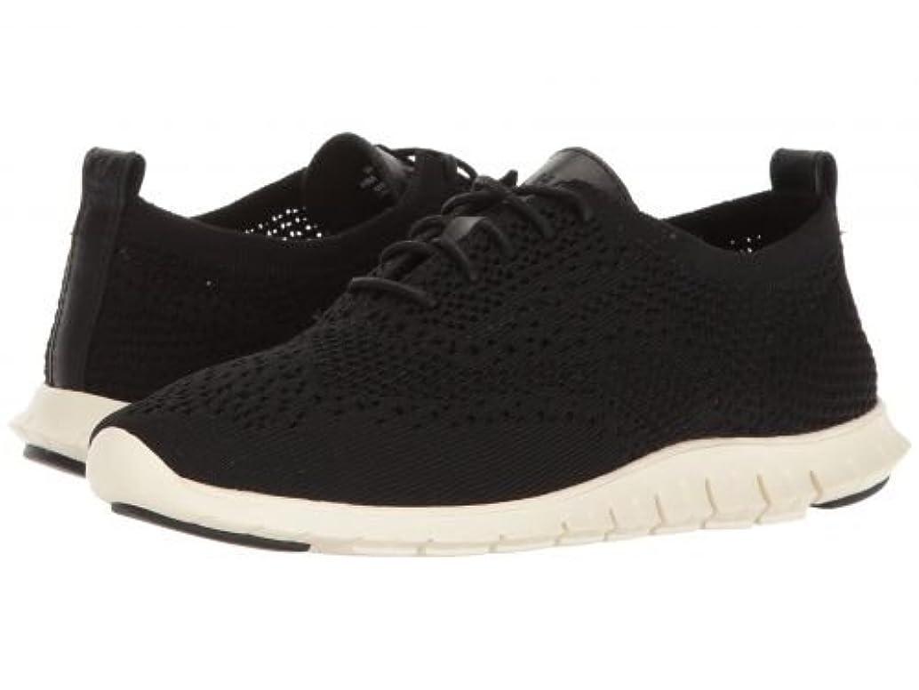 津波光月Cole Haan(コールハーン) レディース 女性用 シューズ 靴 スニーカー 運動靴 Zerogrand Stitchlite Oxford - Black Knit/Leather/Ivory [並行輸入品]