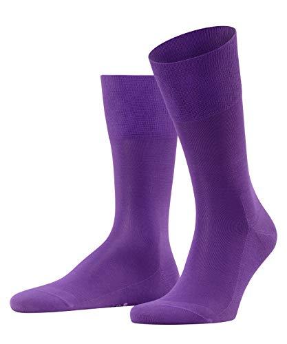 FALKE Herren Socken Tiago - 95prozent Baumwolle, 1 Paar, Blau (Petunia 6860), Größe: 45-46