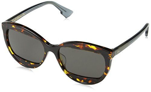 Dior Damen Diormania2 Ir Tv9 57 Sonnenbrille, Braun (Bw/Grey Blute)