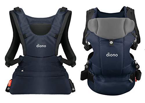 Diono Carus Essentials Porte-bébé 3 en 1 Bleu marine