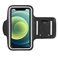 Diese Sport Handyhalterung für das Apple iPhone 12 Mini [5,4 Zoll], ist das absolute Muss, wer aktiv ist beim Joggen, Laufen, Running, Fahrrad fahren, Wandern, Fitness oder in einem anderen Sport Perfekte Arm Tasche um beim Sport Musik zu hören, die ...