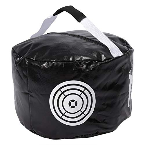 Bolsa de Entrenamiento de Golf, 2 Colores Golfs Swing Training Aids Smash Impact Contact Power Golfista Practicar la Bolsa(Negro)