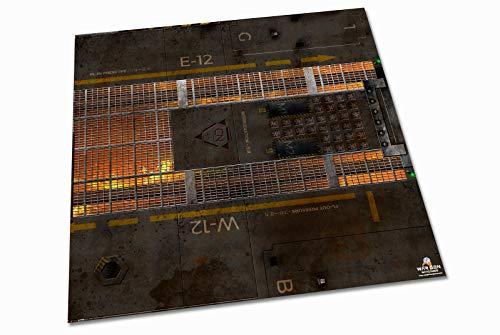 Molten Core - Tapete para Wargames (2x2 (62x62cm))