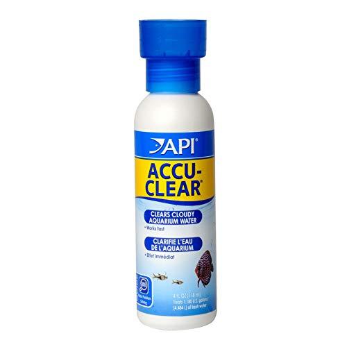 API ACCU-Clear - Clarificador de Agua Dulce para Acuario, Botella de 118 ml
