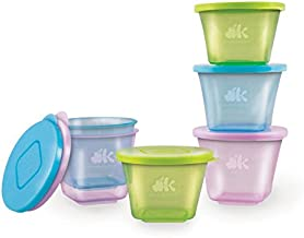 NUK Stack & Store Cups, 6 Cups and lids