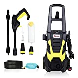 Stream 2200W 165Bar 330L/H Pressure Washer Electric Portable Lightweight Power Washer Patio Cleaner