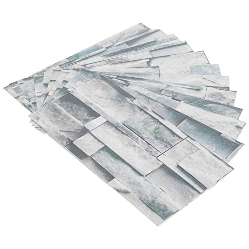 Tomanbery Adhesivo para Azulejos Resistente a la Humedad Adhesivo para Azulejos de mármol Impermeable Piso de Cocina para baño Sala de Estar(KIT042)