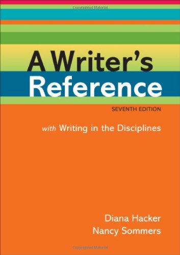 A Writer's Reference: With Writing in the Disciplines