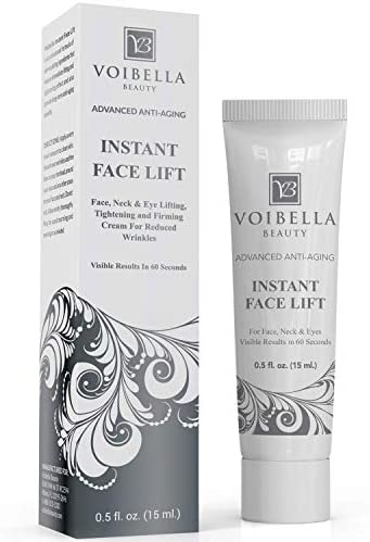 Instant Face Lift Cream Best Eye Neck Face Tightening Lifting Firming Serum To Smooth Appearance product image