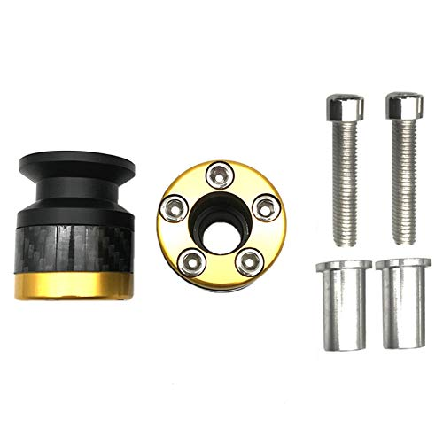 QFDM Furniture Bolts Motorcycle Sworkarm Spools Tornillos de Soporte Kit Slider Stainless Steel Durable (Color : Gold)