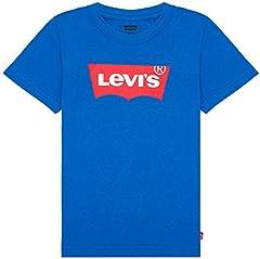 Levi's Camiseta de Manga Corta Infantil Azul Real para Chico Niño - 8E8157