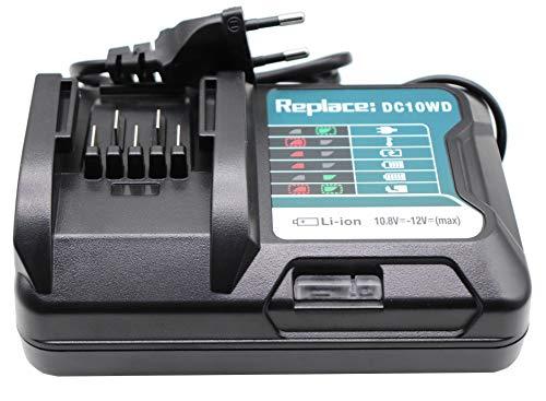 Golem-power 10.8V 12V BL1041B (BL1016) Ladegerät Für Makita Tool DF031D DF0331D TD110D JR103D JR105D HSS01D HP332D DC10SB DC10WA 197339-1 Akku BL1015 BL1021B BL1020B