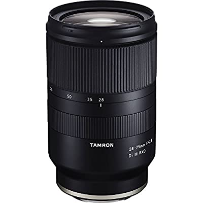 Tamron 28-75mm F/2.8 for Sony Mirrorless Full Frame E Mount (Tamron 6 Year Limited USA Warranty) by Tamron