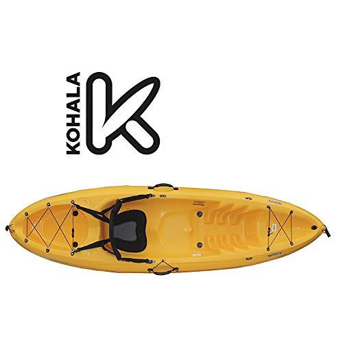 Devessport - Kayak Velocity 2 | Kayak para 2 Persona Tipo sito on Top - autovaciable | Fondo Tunel o Acanalado | Peso máximo 108 kg