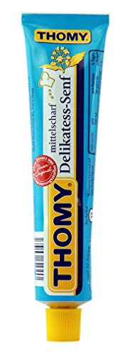Thomy Delikatess-Senf ( Medium Mustard ) in Tube ( 100 ml ) by Thomy