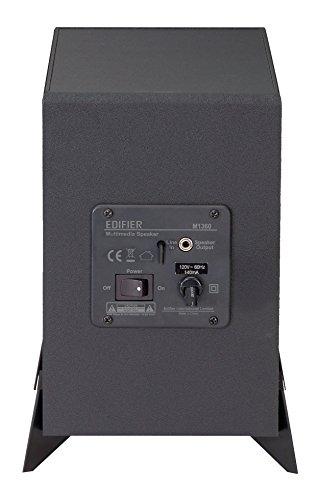 【日本正規代理店品】Edifier2.1chゲーミングマルチメディア用アクティブスピーカーブラックED-M1360