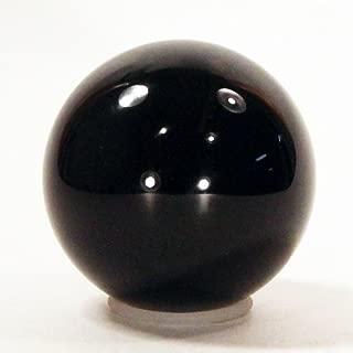 Zeekio Black Acrylic Contact Ball - Body Juggling - 80mm